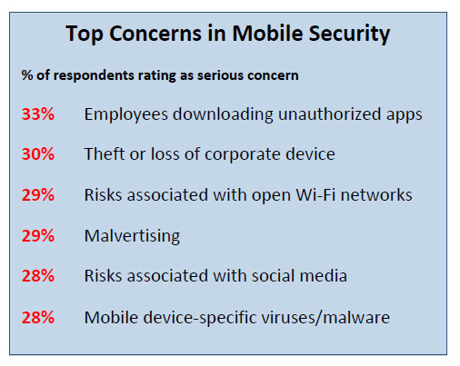 Top Concerns in Mobile Security